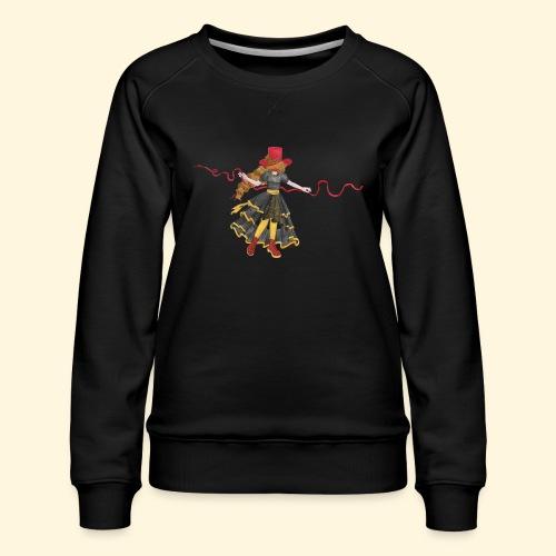 Ladybird - La célèbre uchronaute - Sweat ras-du-cou Premium Femme