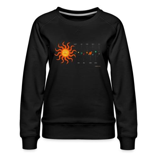 Solar System - Women's Premium Sweatshirt