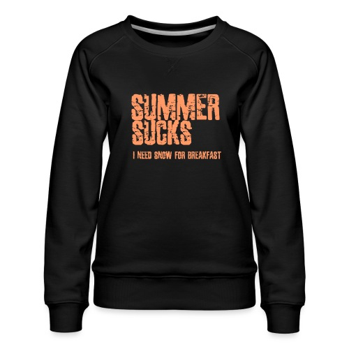 SUMMER SUCKS - Vrouwen premium sweater