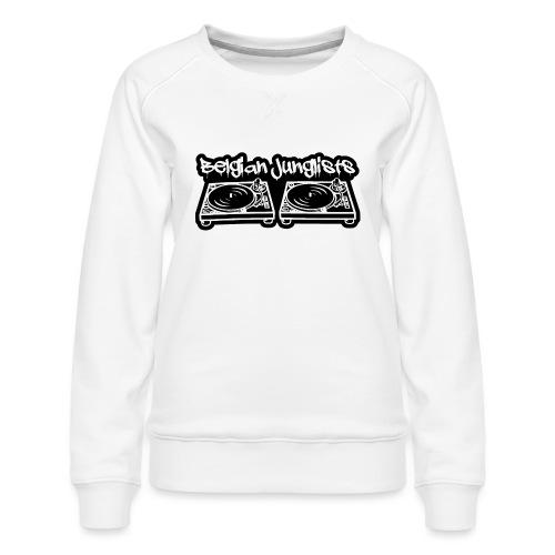Belgian Junglists 2 - Women's Premium Sweatshirt