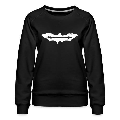 AjuxxTRANSPAkyropteriyaBlackSeriesslHotDesigns.fw - Women's Premium Sweatshirt