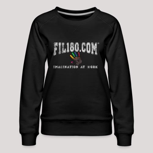 FIL180 Hoody WHITE - Women's Premium Sweatshirt