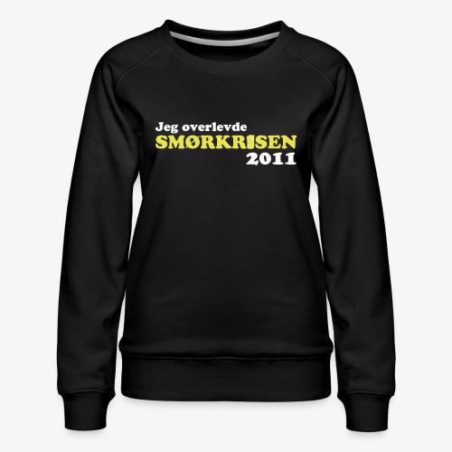 Smørkrise 2011 - Norsk - Premium-genser for kvinner