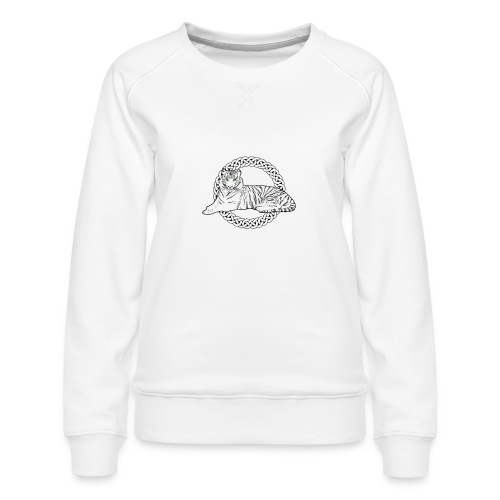 CelticTiger Apparel - Women's Premium Sweatshirt