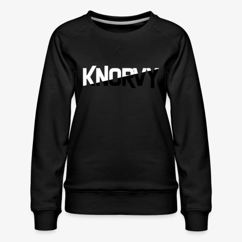 KNORVY - Vrouwen premium sweater