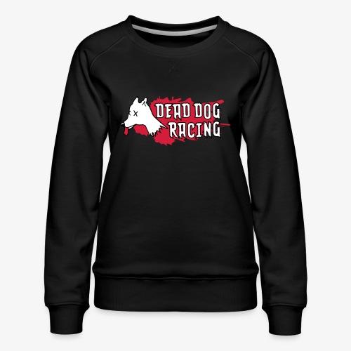 Dead dog racing logo - Women's Premium Sweatshirt