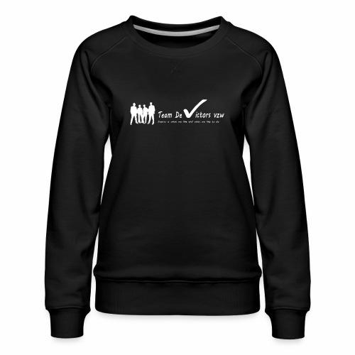 TDV - Vrouwen premium sweater