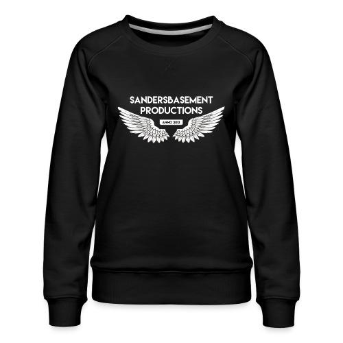 T SHIRT logo wit png png - Vrouwen premium sweater