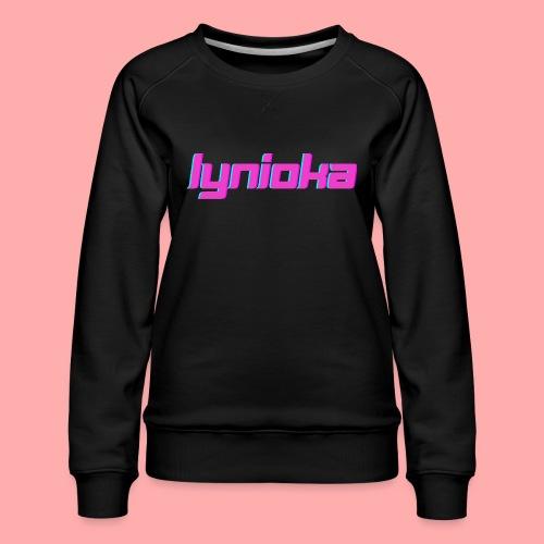 Lynioka Logo 2 - Sweat ras-du-cou Premium Femme