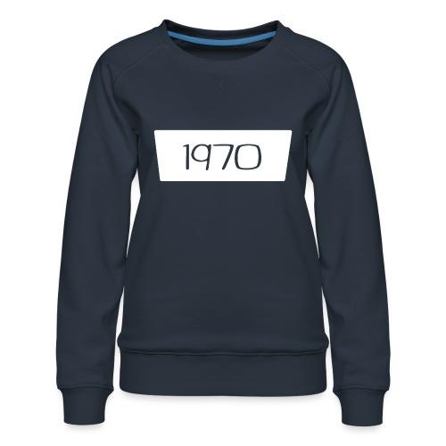 1970 - Vrouwen premium sweater