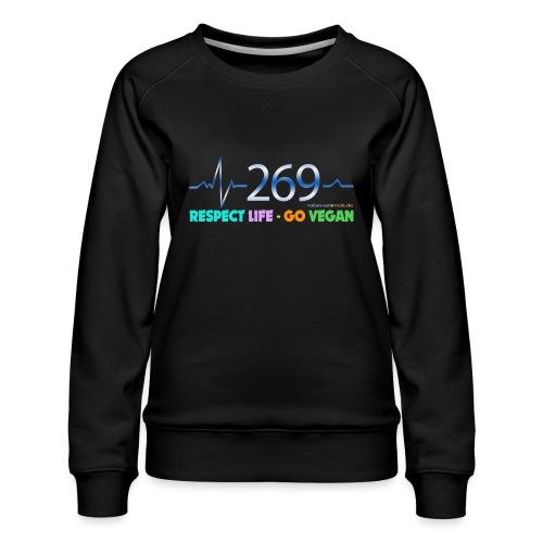 269 RESPECT LIFE - Frauen Premium Pullover