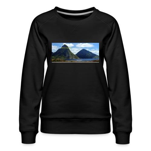believe in yourself - Women's Premium Sweatshirt