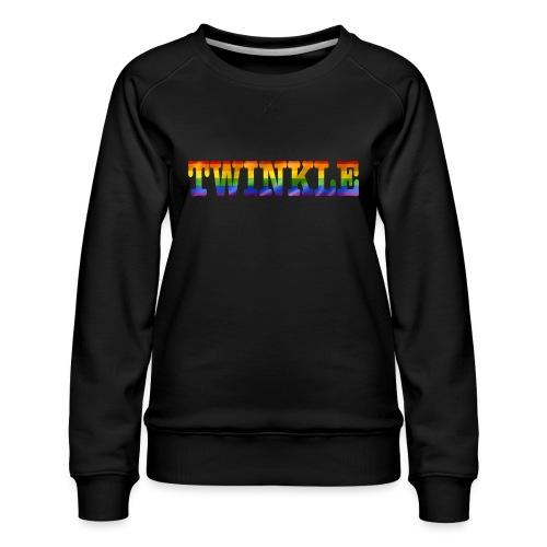 twinkle - Women's Premium Sweatshirt