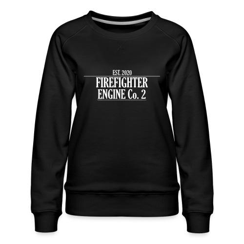 Firefighter ENGINE Co 2 - Dame premium sweatshirt