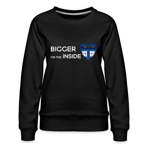 Tardis Heart - Women's Premium Sweatshirt