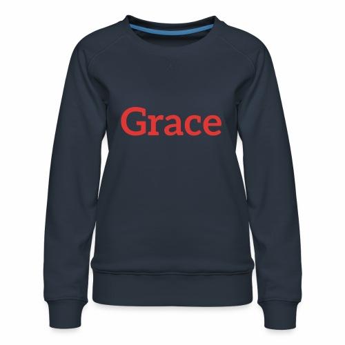 grace - Women's Premium Sweatshirt
