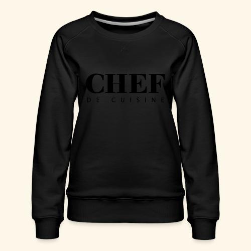 BOSS de cuisine - logotype - Women's Premium Sweatshirt