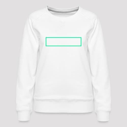 Herbivore Logo White - Felpa premium da donna