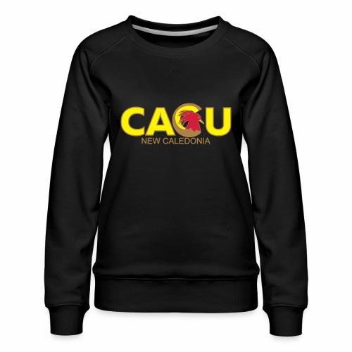 Cagu New Caldeonia - Sweat ras-du-cou Premium Femme