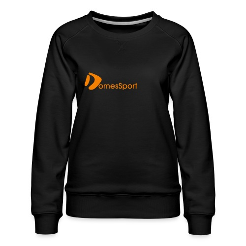 Logo DomesSport Orange noBg - Frauen Premium Pullover