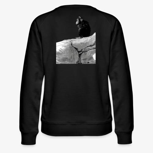 Music Monkey - Women's Premium Sweatshirt