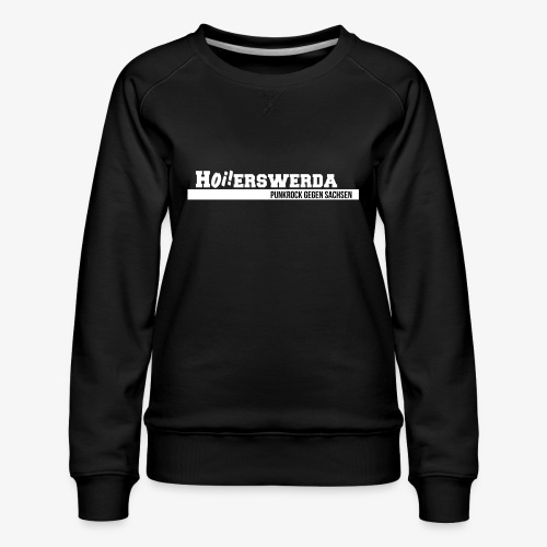 Logo Hoierswerda transparent - Frauen Premium Pullover