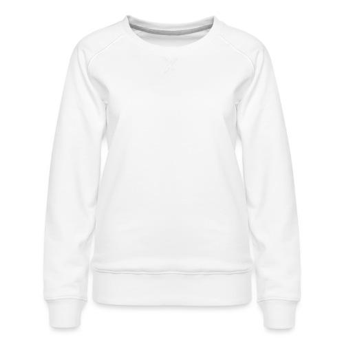 Bläkout -logo valkoinen - Naisten premium-collegepaita