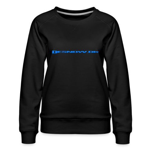Desnow blue - Dame premium sweatshirt