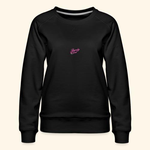 Beauty Girl Ltd logo web medium - Dame premium sweatshirt