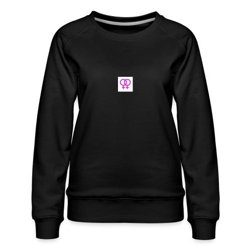lesbian logo - Sweat ras-du-cou Premium Femme