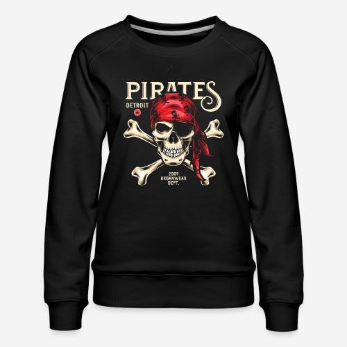 Piraten Urban Wear Sportswear - Frauen Premium Pullover