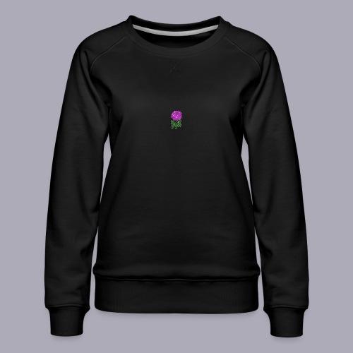 Landryn Design - Pink rose - Women's Premium Sweatshirt