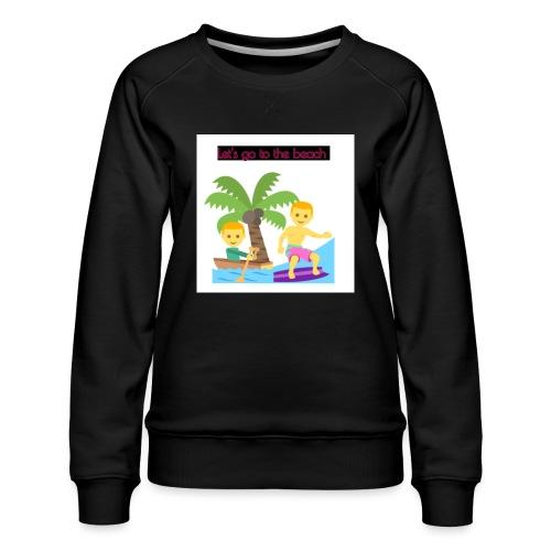 beach - Premiumtröja dam