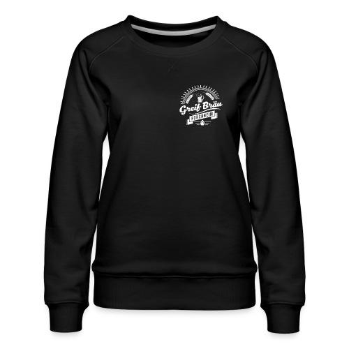 logo-5-white - Frauen Premium Pullover