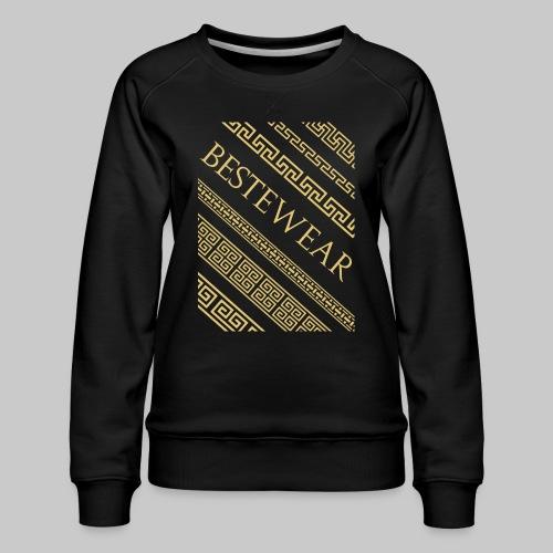 #Bestewear - Gold Chain´s - Frauen Premium Pullover