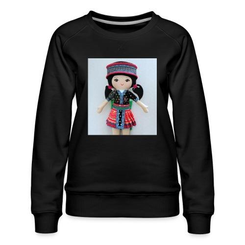 We love Karenin - Women's Premium Sweatshirt