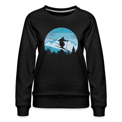 Skifahren - Frauen Premium Pullover