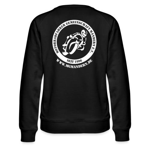 MGM vorne hinten - Frauen Premium Pullover