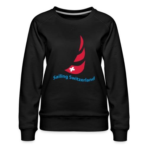 logo sailing switzerland - Frauen Premium Pullover