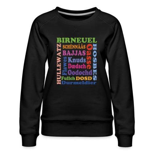 schimpf - Frauen Premium Pullover