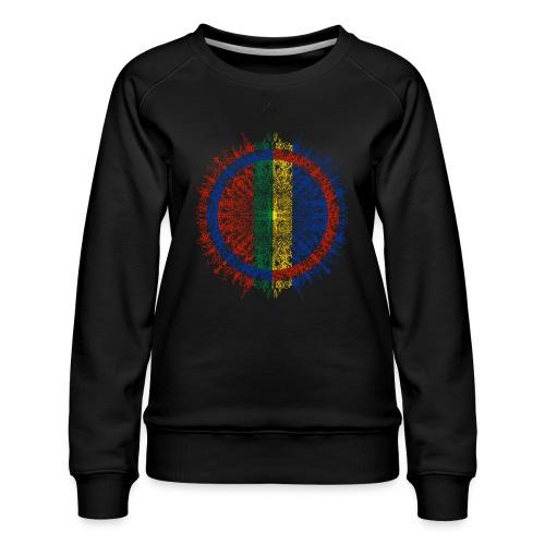 Samisk flagg - Premium-genser for kvinner
