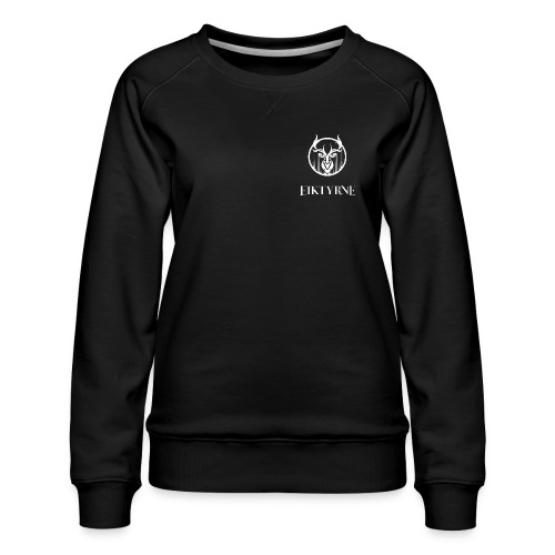 eiktyrne logo sv - Premium-genser for kvinner