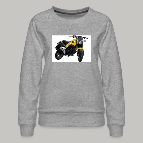 Grom Motorcycle (Monkey Bike) - Women's Premium Sweatshirt