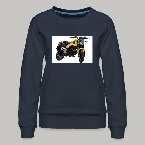 Grom Motorcycle (Monkey Bike) - Women's Premium Sweatshirt