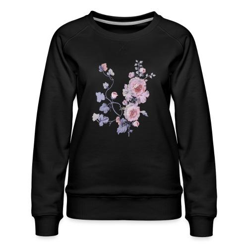 Schlichte Blumen - Frauen Premium Pullover