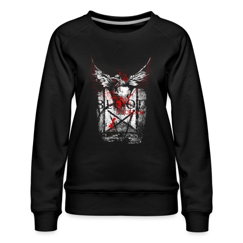 RAVEN   BLOOD SCREAM - Frauen Premium Pullover