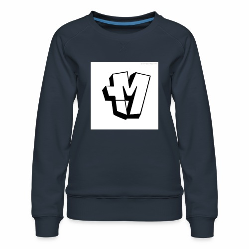 graffiti alphabet m - Women's Premium Sweatshirt