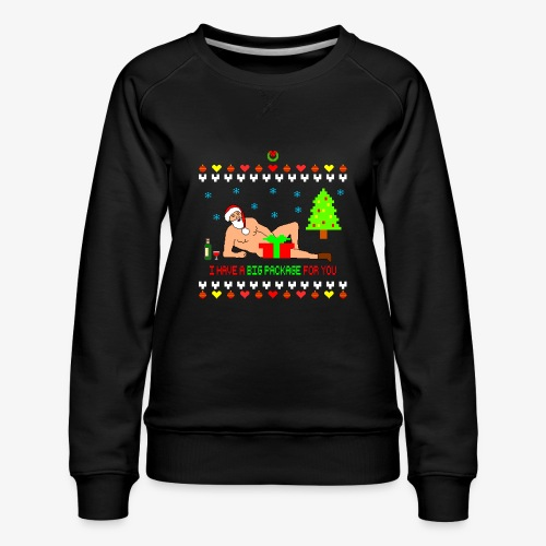 Sexy Romantic Santa Ugly Xmas - Frauen Premium Pullover