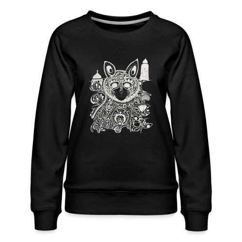 The Heart Is A Golden Fractal - Women's Premium Sweatshirt