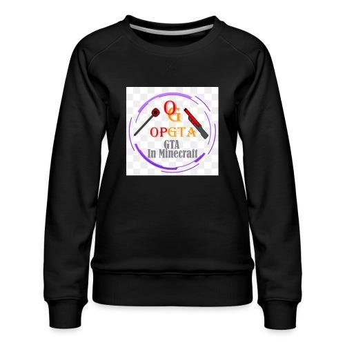 opgta logo - Naisten premium-collegepaita